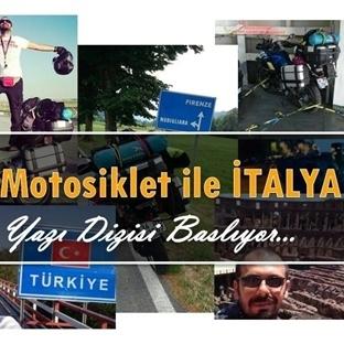 Motorsiklet ile Italya turu
