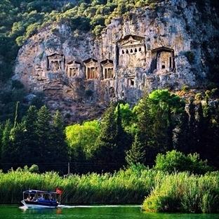 Muğla'da ilk üçte: Kaunos Antik Kenti