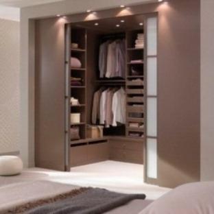 Muhteşem Giyinme Odaları ve Gardrop Modelleri