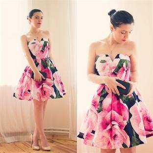Ne Giydim: AX Paris Çiçekli Elbise