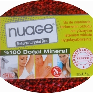 Nuage Natural Crystal Deo