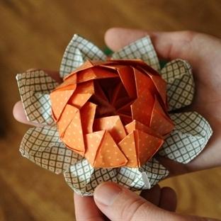 Origami Lotus Çiçeği