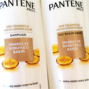 Pantene Onarıcı ve Koruyucu Şampuan & Saç Kremi