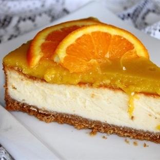 Portakallı Cheesecake Tarifim