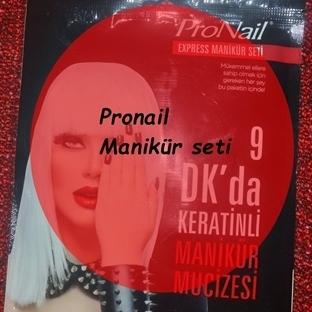 Pronail Keratinli Manikür Seti