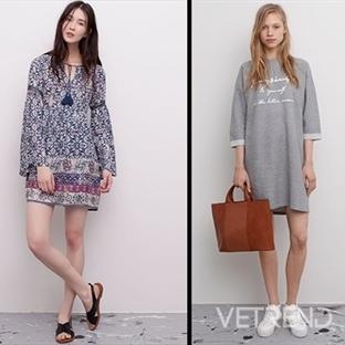 Pull&Bear'den Modern Yazlık Elbiseler