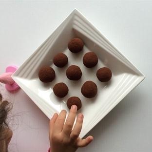 Sağlıklı Trüf Çikolata