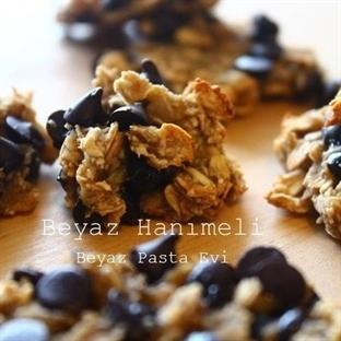 Şekersiz,unsuz,yağsız kurabiye:Yulaflı kurabiye
