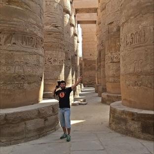 Sırtçantamla Luksor Yollarında..