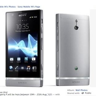 Sony'den 4240mAh BataryaLI Telefon: XPERİA P2
