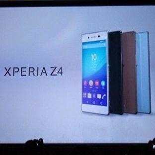 Sony, yeni telefonu Xperia Z4'ü resmen duyurdu