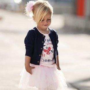 Tarz Kız Çocuk Kıyafet Modelleri