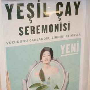 The Body Shop Fuji Green Tea Lansmanı