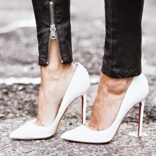 Trend: Beyaz stiletto