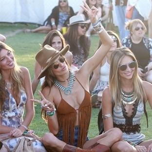 Ünlülerin 2015 Coachella Stilleri