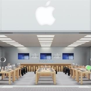 Watch için Yenilenen Apple Store'ların Ön Görünümü