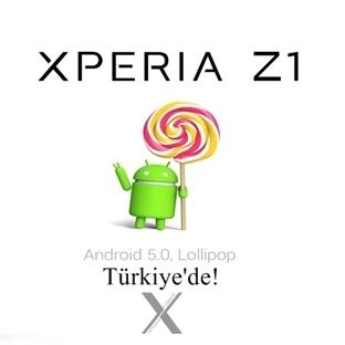 XPERIA Z1 TÜRKİYE İÇİN ANDROID 5.0.2 LOLLIPOP!