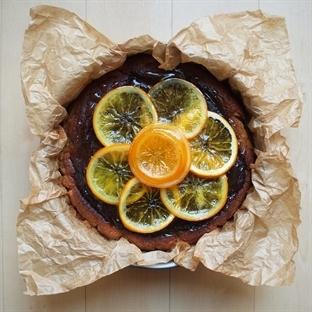 Yağsız Unsuz Portakallı Kek