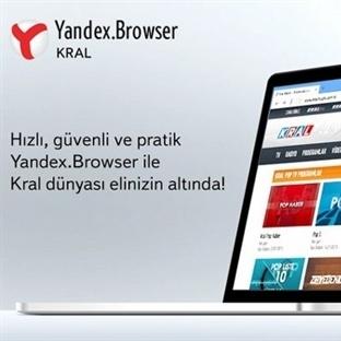 Yandex Browserdan sevilecek bir haber