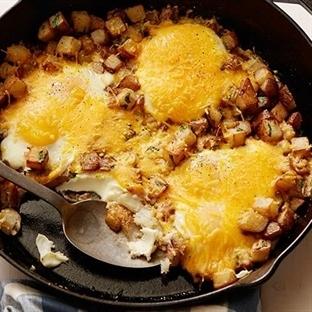 Yumurtalı Patates Kızartması Tarifi