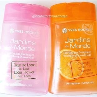 Yves Rocher Aromalı Duş Jelleri