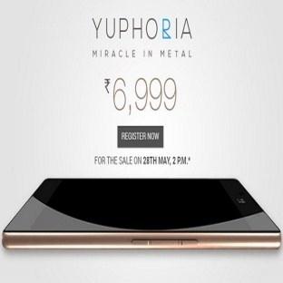 109 dolara Ultra Ucuz Akıllı Telefon: Yu Yuphoria