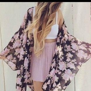 2015 Yaz Trendi: Kimonolar