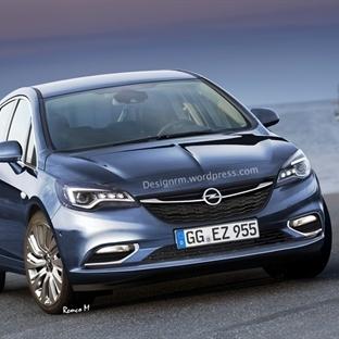 2016 Opel Astra Böyle Görünecek!