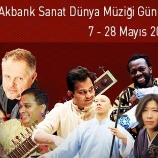 Akbank Sanat Dünya Müziği Günleri Başlıyor