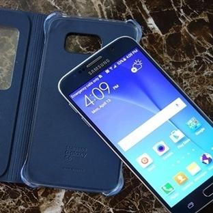 Samsung Glaxy S6'nın S-View Kılıf Görselleri