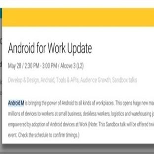 Android M Yakında Duyurulacak