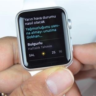 Apple Watch 1.0.1 ile Türkçe Siri Desteği Geldi!
