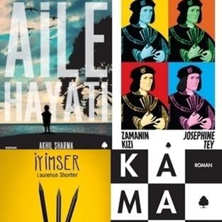 April Yayıncılık'tan Dört Yeni Roman