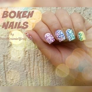 Bokeh Nail Art