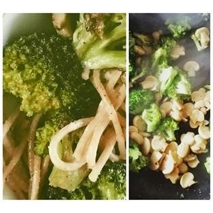 Brokoli Mantarlı Kepekli Makarna