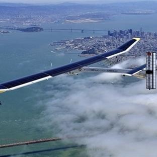 Bu uçak sadece güneş enerjisi ile çalışıyor