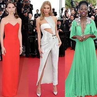 Cannes Film Festivali açılışında Ünlüler
