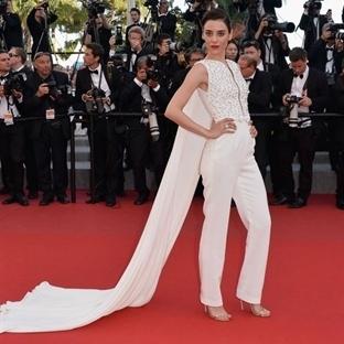 Cansu Dere 2015 Cannes stili