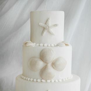 Deniz temalı düğün pastaları