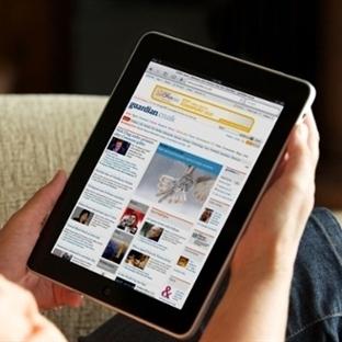 Dergiler, gazeteler, kitaplar tabletlerden okunuyo