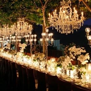 Düğününüze Işıltı Katacak Aydınlatma Önerileri