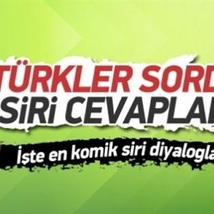 En Komik Türkçe Siri Diyalogları