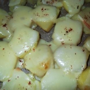 fırında peynirli patetes