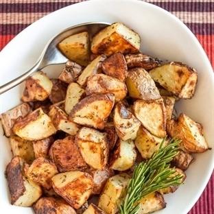 Fırında Zeytinyağlı Patates Tarifi