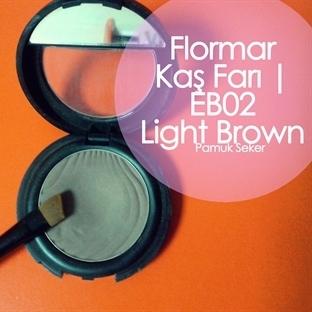 FLORMAR KAŞ FARI | EB02 LIGHT BROWN