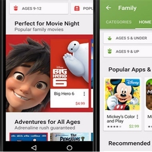 Google Play Store Aile Dostu Olacak