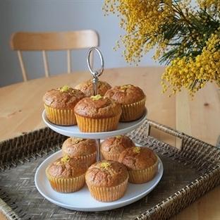 Haşhaşlı Limonlu Muffin