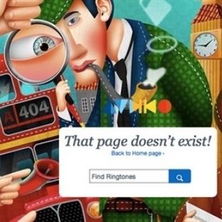 Hata Sayfası Sanatı; 5 Yaratıcı 404 Hata Sayfası