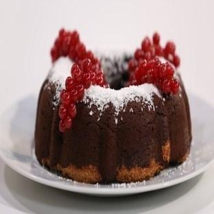 Hindistan cevizli kakaolu kek