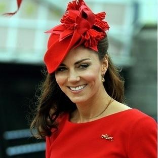 Kate'in şapkaları!